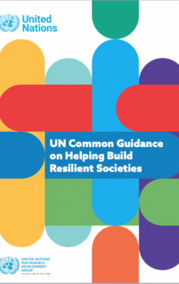 United Nations Common Guidance on Helping Build Resilient Societies