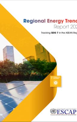 Regional Energy Trends Report 2020 : Tracking SDG 7 in the ASEAN Region