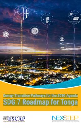 Energy Transition Pathways for the 2030 Agenda SDG 7 Roadmap for Tonga
