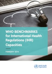 WHO benchmarks for International Health Regulations (IHR) capacities