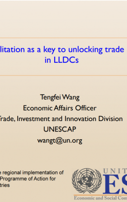 3.3 Presentation Session 3 SDG Week VPoA by Tengfei Wang