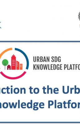 Session 5 – The Urban SDG Knowledge Platform